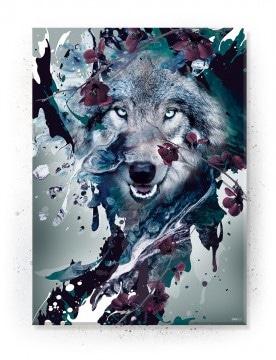 plakat med ulv fra papapapa