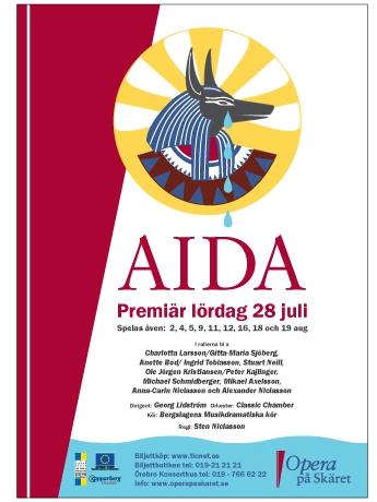 Opera på Skäret, Aida