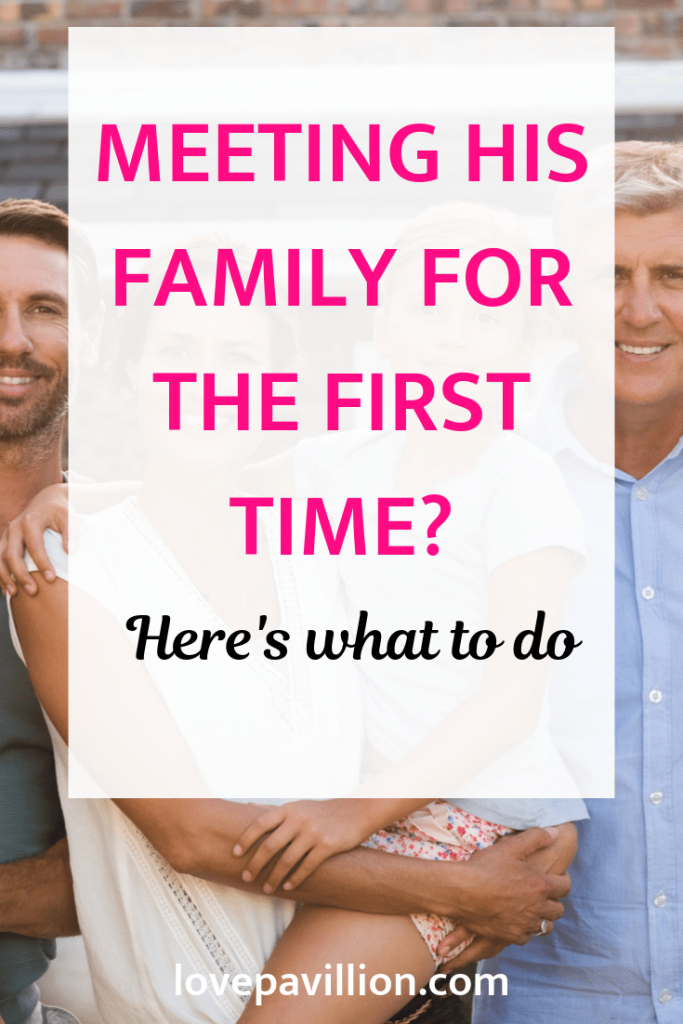 meeting his family