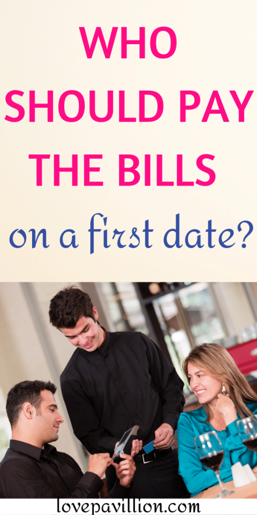 who should pay the bills on a first date