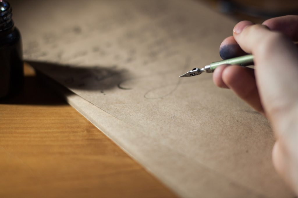 romantic ways to end a letter