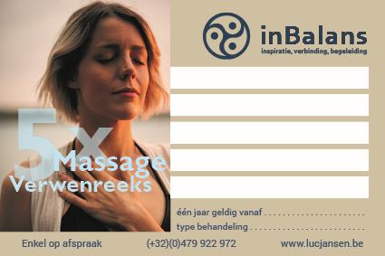 Verwenreeks massage