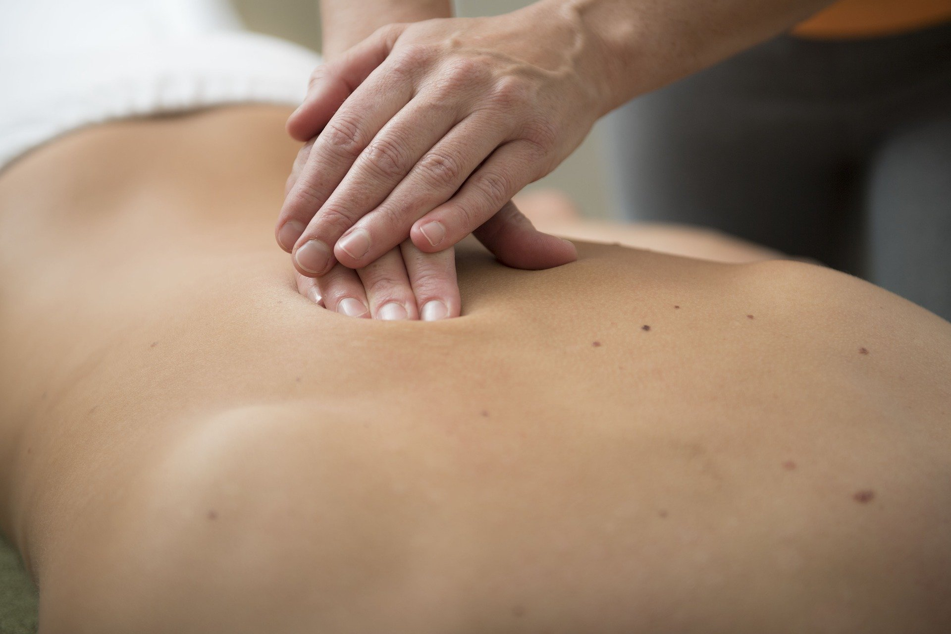 Energetische acupressuurmassage