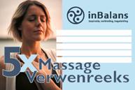 5x Massage Verwenreeks