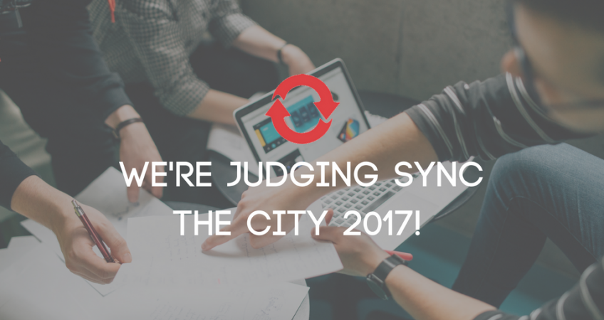 We're judging this year's Sync the City!