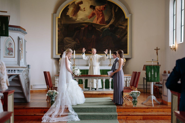 Bryllup i Asak kirke, Jeløy Radio, Norge