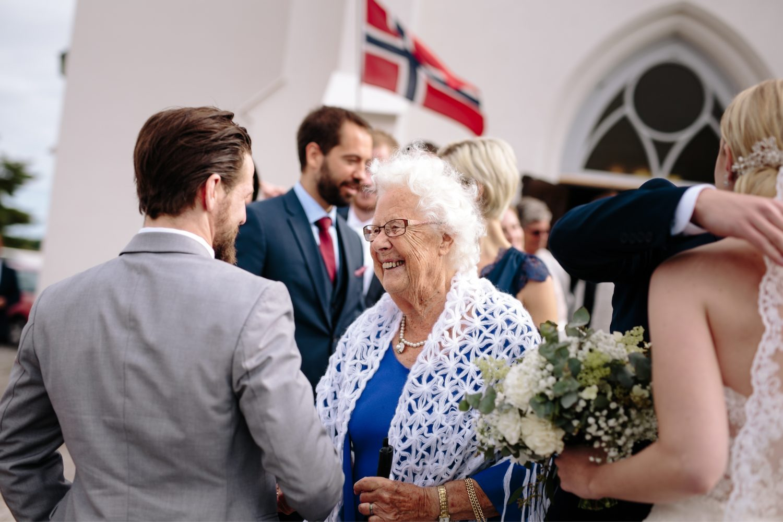 Bestemor, Bryllup i Halden, Norge