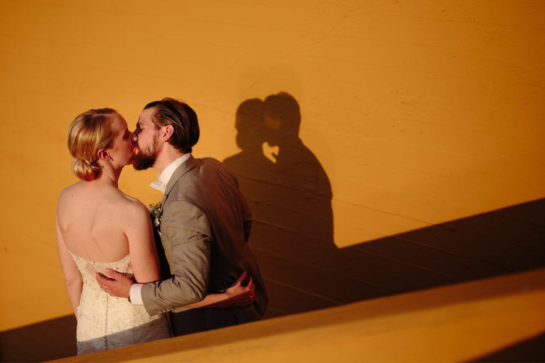 solnedgang, sykkel, Bryllupsfotografering i Moss, Jeløy radio, Norge