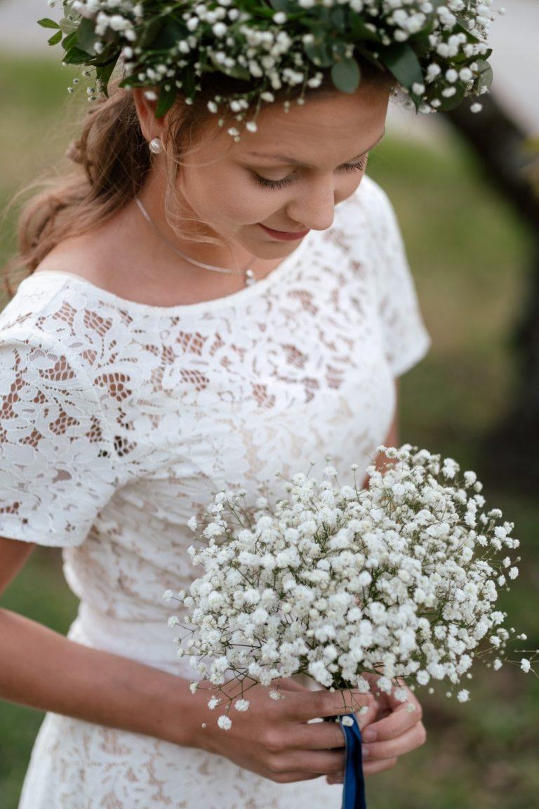 LundeFoto, Blomsterpike, hvite blomster