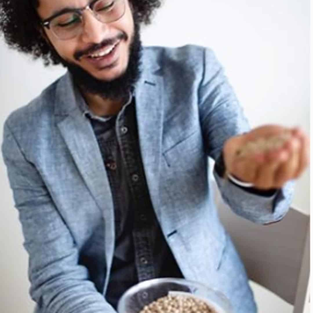 Photo of Lupinta's CEO Eslam Salah