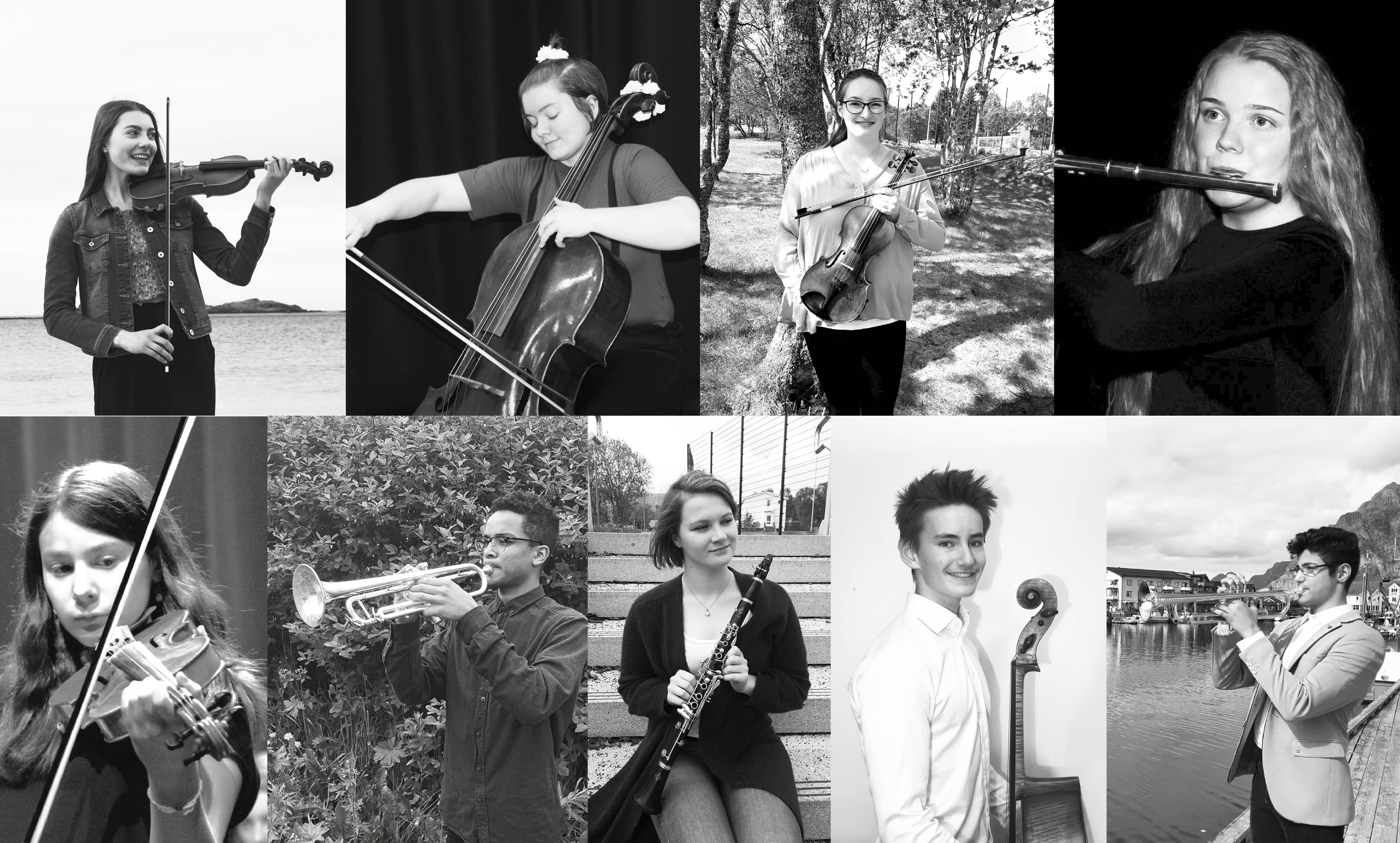 """""""Unge Talenter"""" – LVO med lokale solister på Leknes"""