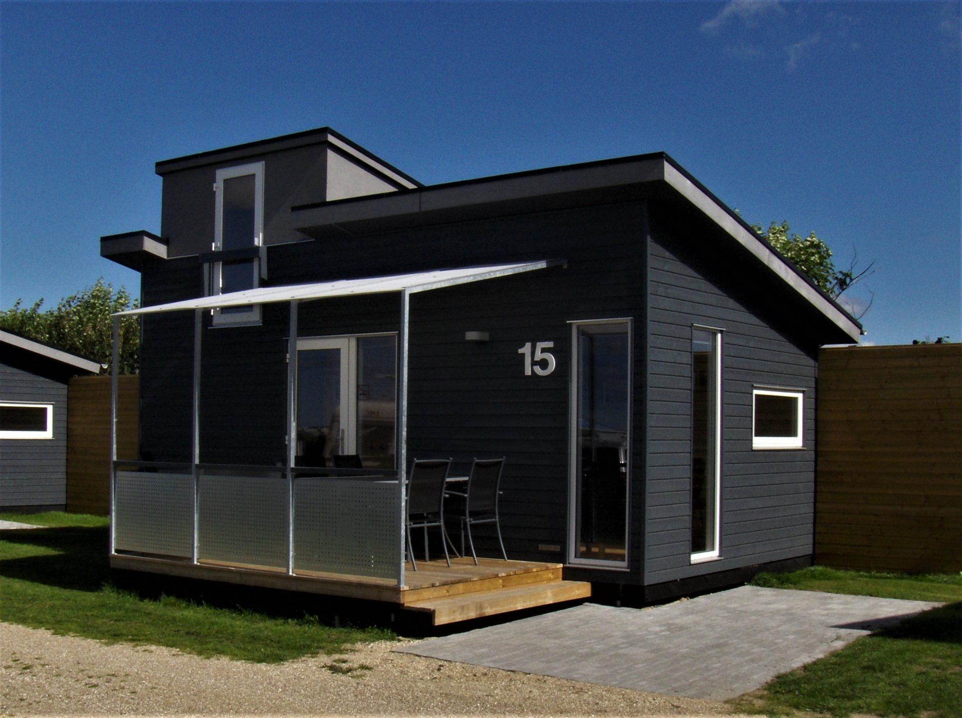 Nibe Camping tilbyder overnatning ved Limfjorden
