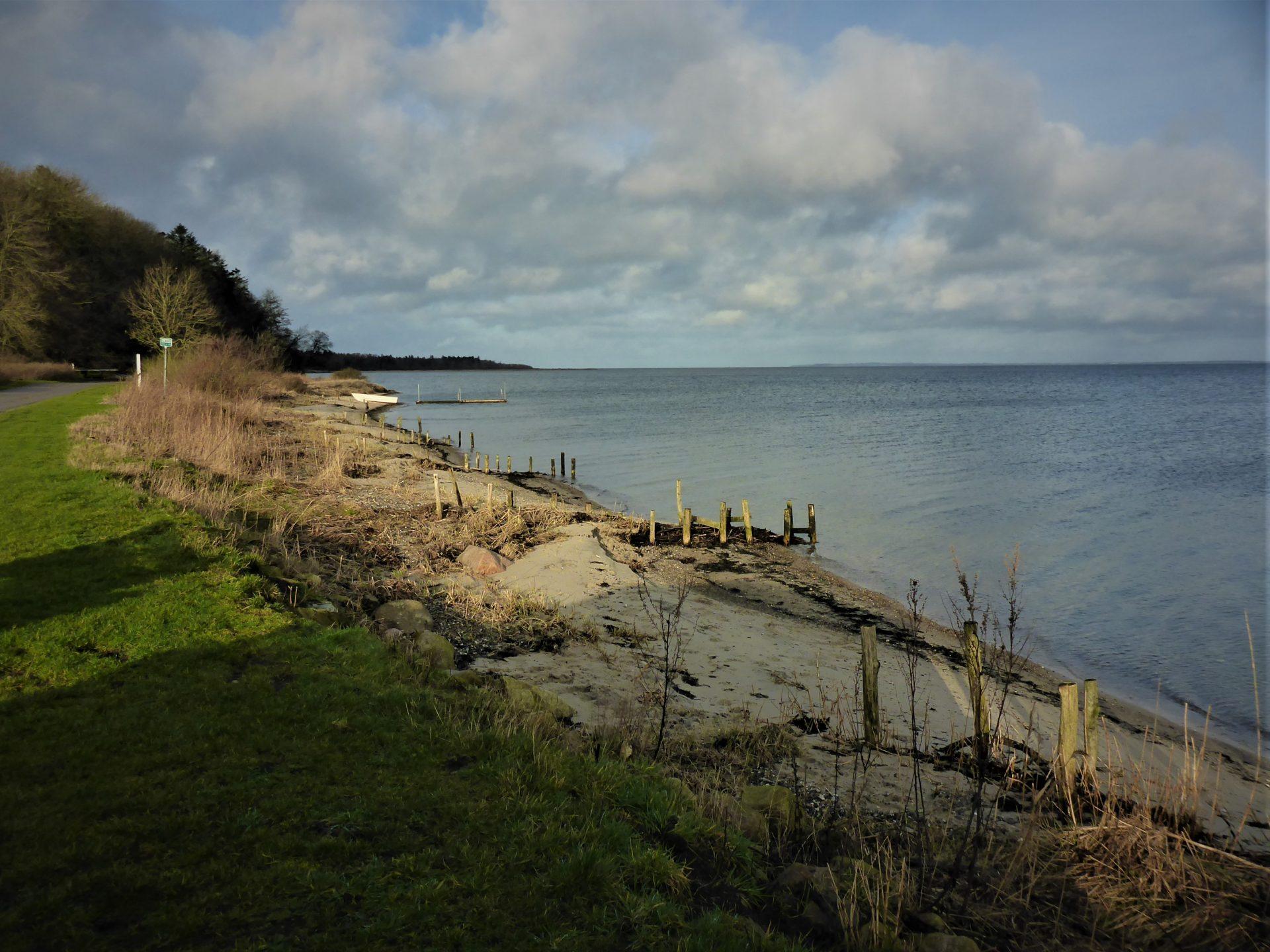 Junget Strand er en af de bedre fiskepladser i Limfjorden.