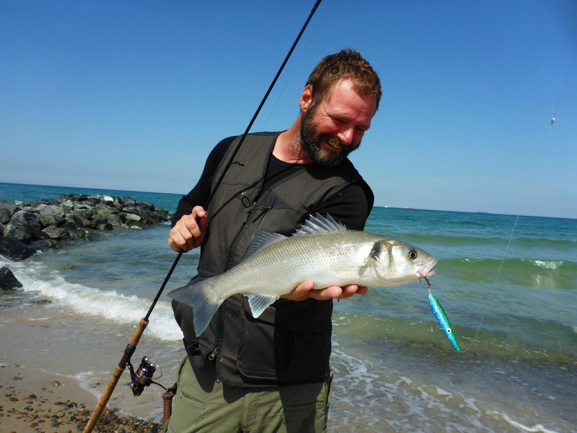 Havbars - fiskeri fra vestkysten. En spændende mulighed.