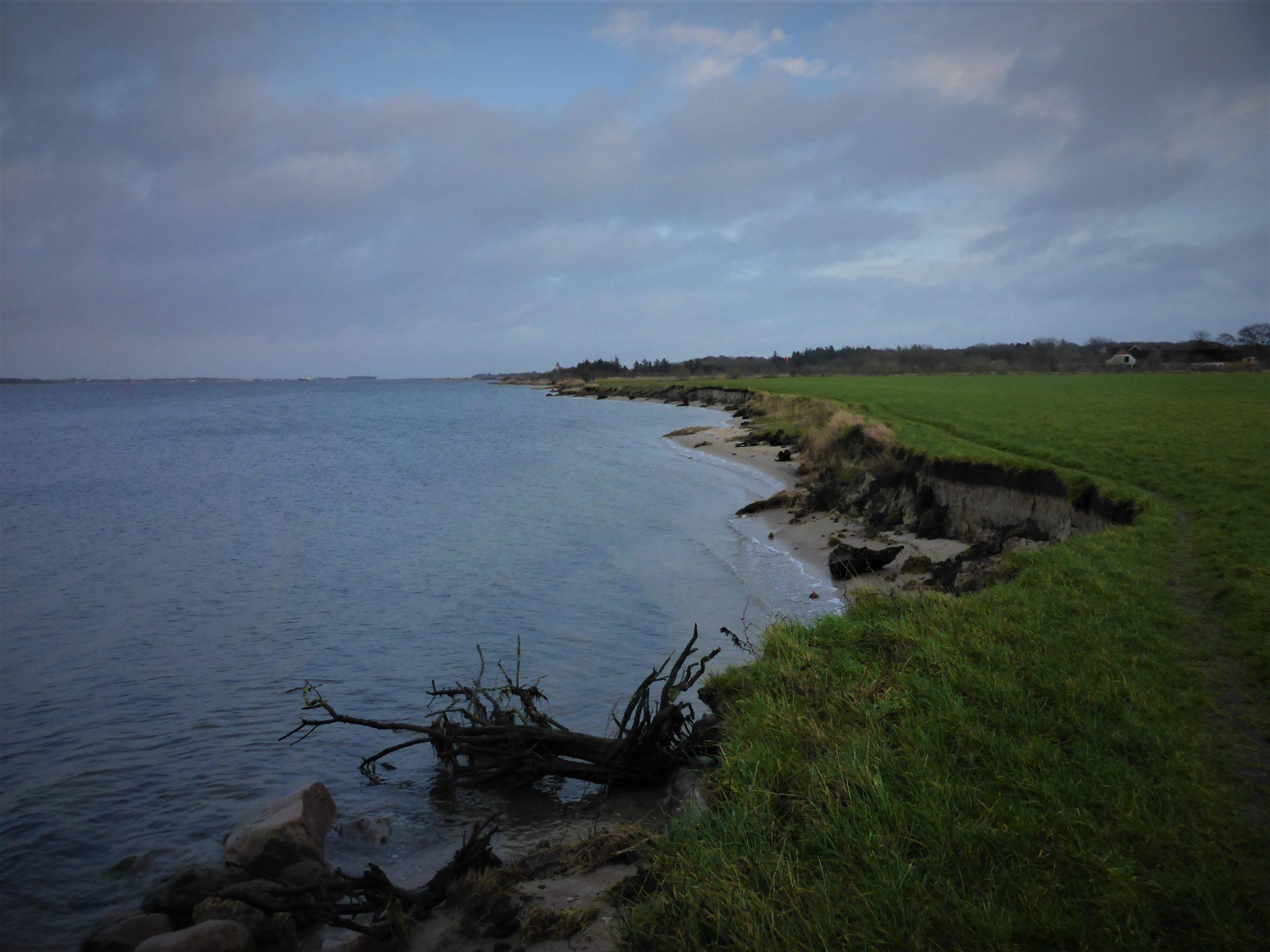 Stjernen er en fiskeplads i sydøst, til fangst af havørred i Limfjorden.