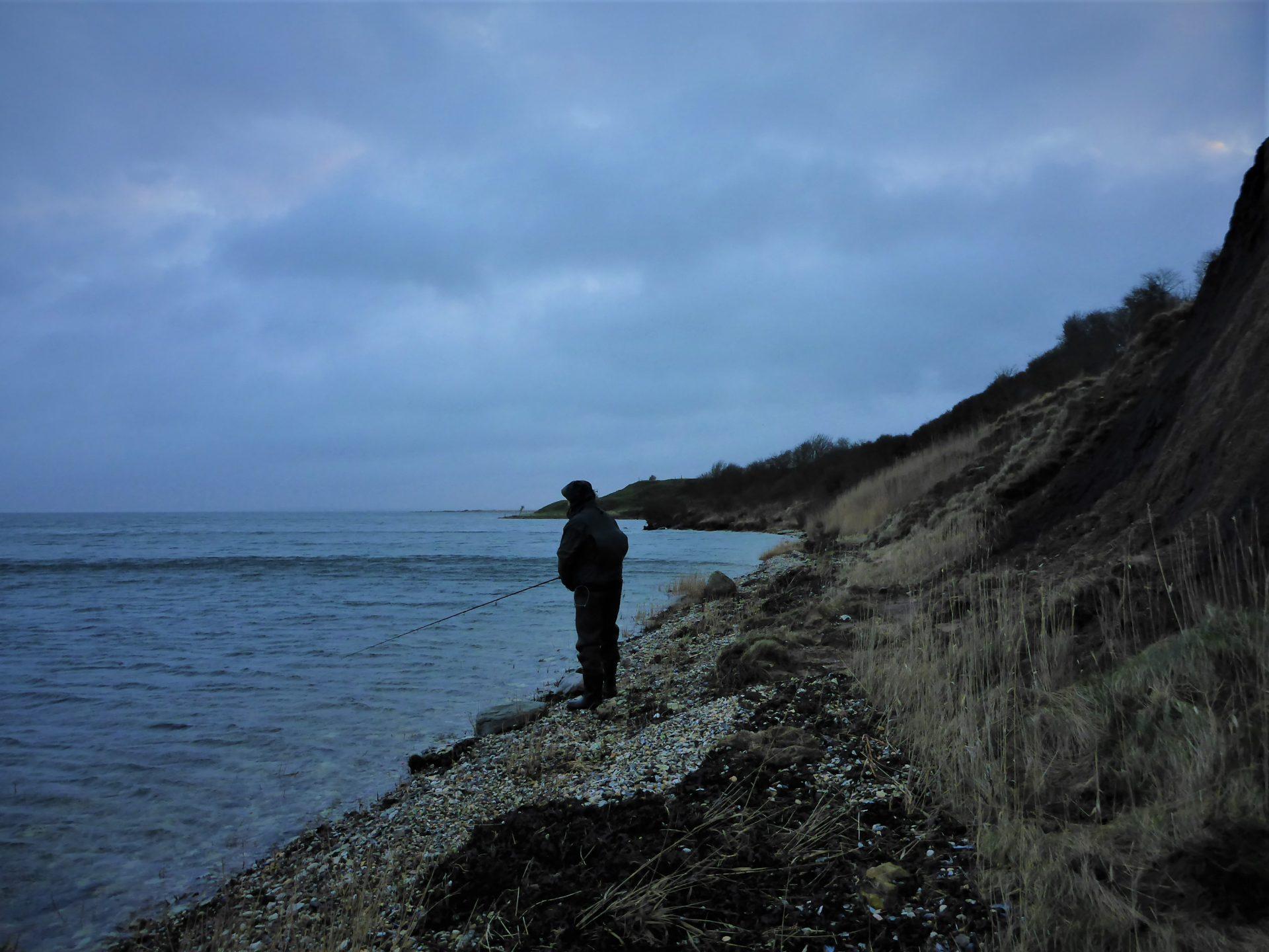 Vilsund øst er en fiskeplads på Mors i Limfjorden til fangst af havørreder.