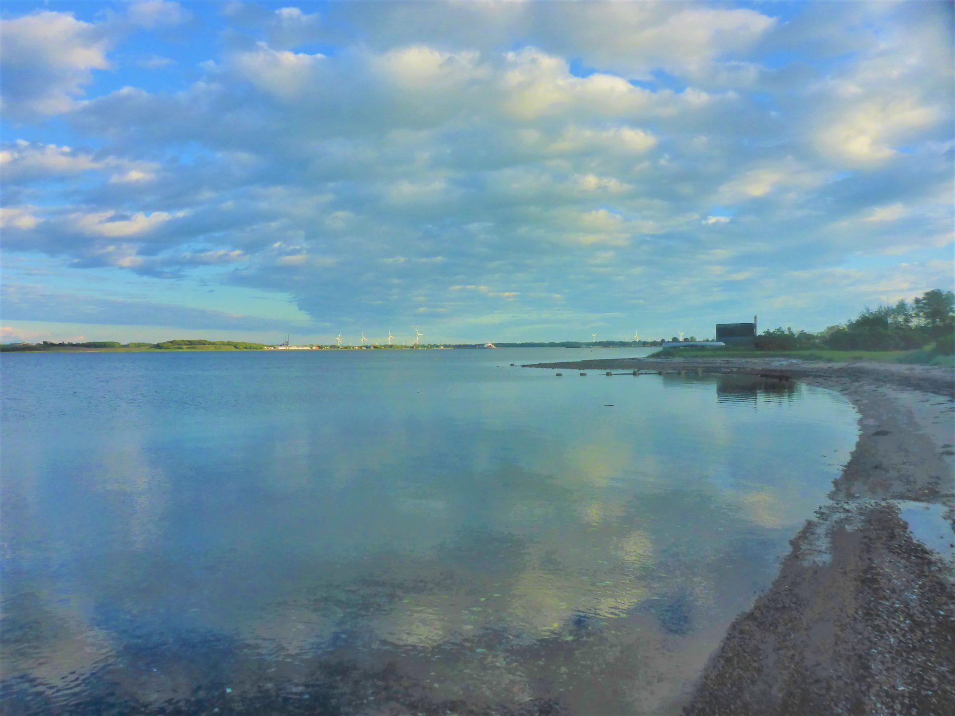 Lystfiskeri ved Nederby På Fur.