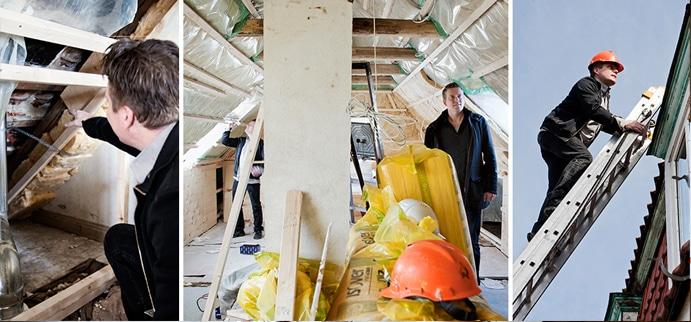 Kontrol og tilsyn - vær sikre på, at jeres byggeprojekt ikke løber af sporet med professionel byggeledelse.