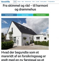 m4 Arkitekter på voresvilla.dk - Italienske fliser i huset.