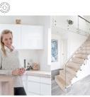 m4 Arkitekter på dbark.dk - 60'er hus forvandlet til skarp og moderne villa.