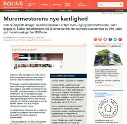 m4 Arkitekter på bolius.dk - Murermestervilla møder yngre tilbygning.