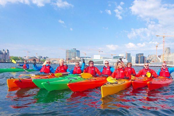 oslo fjord kayak tour