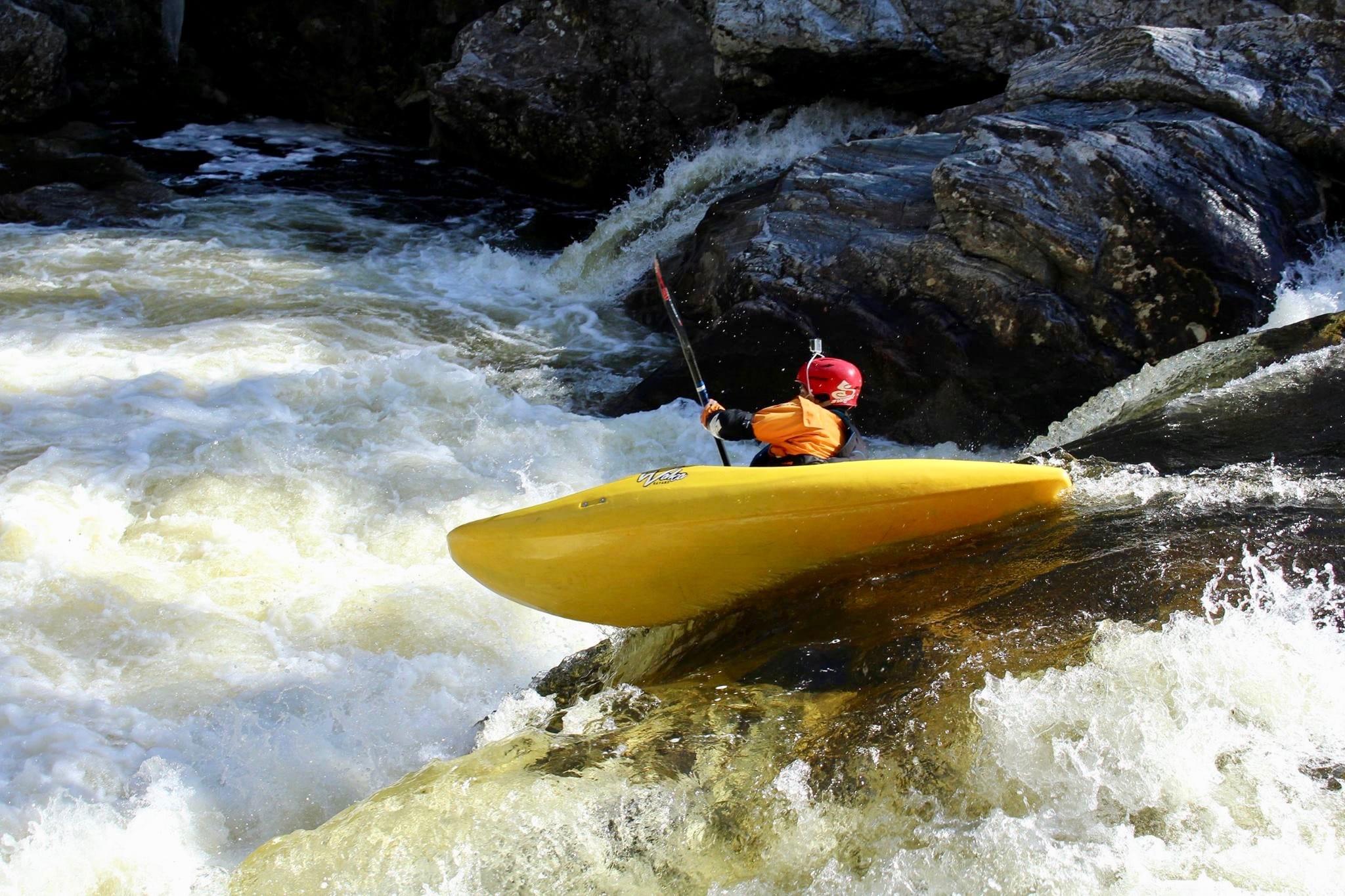 Kayaking Urula River