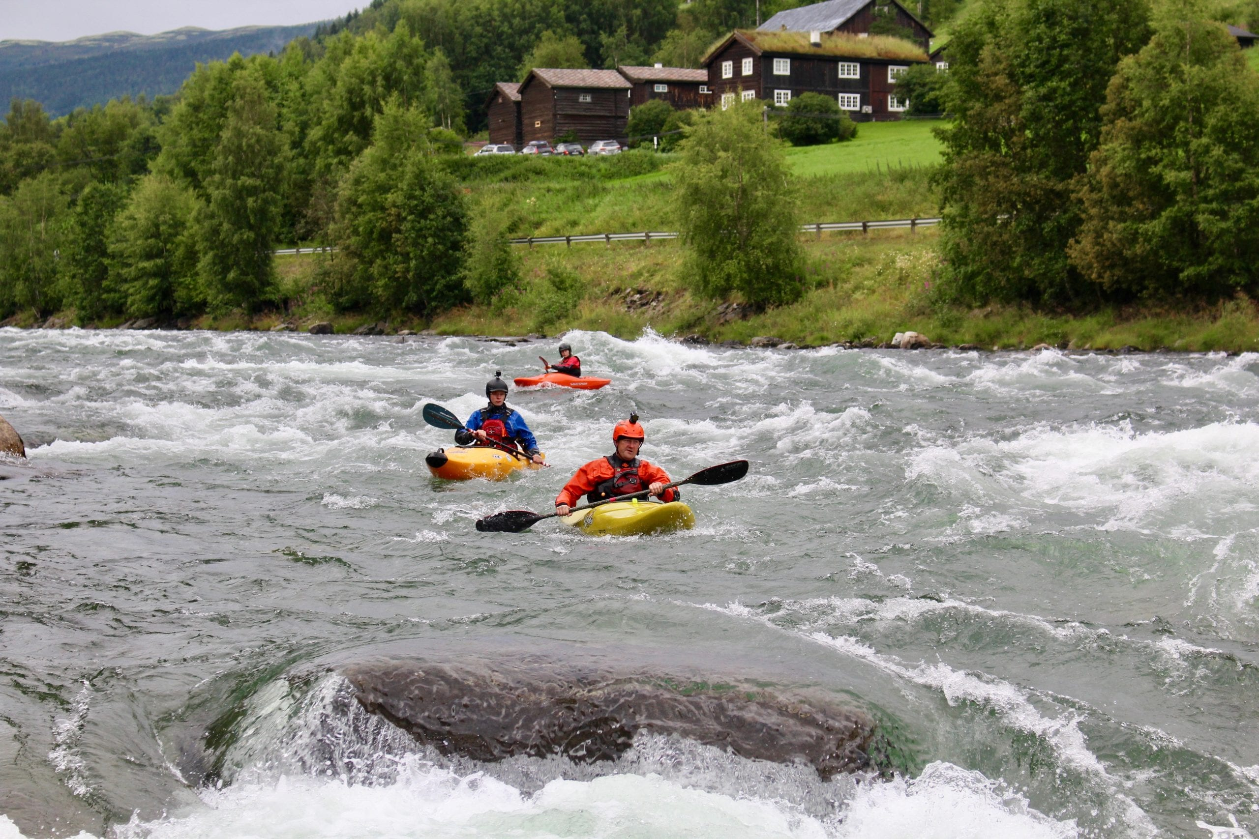 Kayaking Sjoa Normal Section