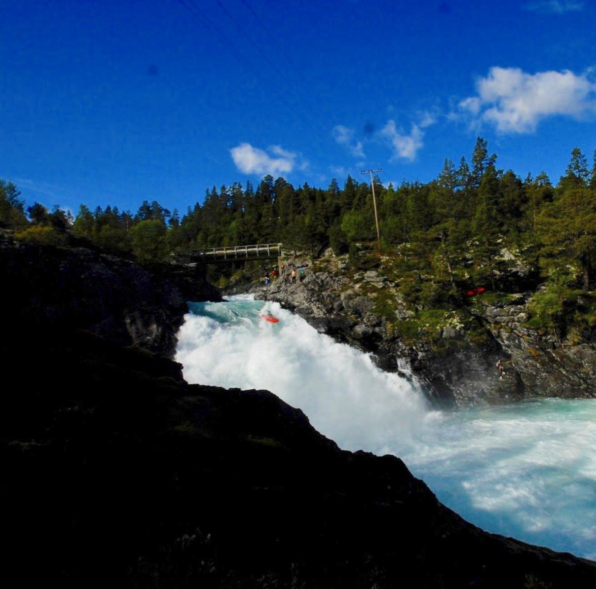 Paddling Stuttgangfossen