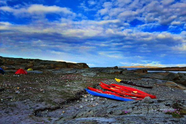 Hvasser kayaking