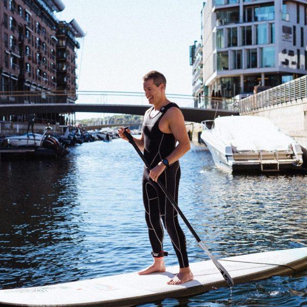 lære å SUP Oslo