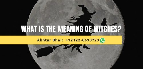 What is the meaning of Witches