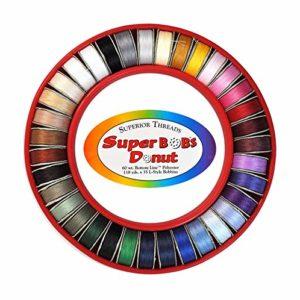 Magomar Patch Donut de 35 canillas con hilo extrafino para aplicaciones , amplia gama de colores 53,00eu