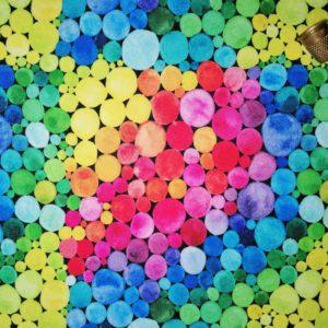 Telas Magomar Patch Fantasía Burbujas - Colección de estampado pensado para Mascarillas - Tela STRETCH - El STRETCH es un tejido de poliéster con un tacto suave-resistente-fácil de trabajar y de fácil limpieza-min