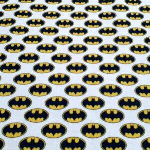 Telas Magomar Patch algodón licencia Warner Bros Logo Batman