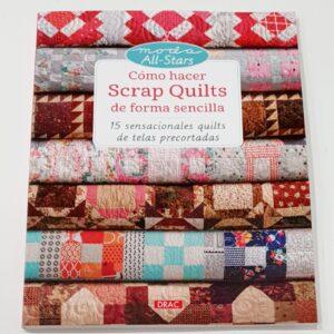 Magomar Patch Libro cómo hacer Scrap Quilts de forma sencilla