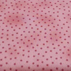 Telas Magomar Patch Basic Twist Básica Tono sobre Tono estrellas y puntos fondo rosa - Ref. MP4513-433 Stoffabrics