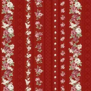Telas Patchwork Magomar Patch Colección Kelly-Roses de Stoffabrics Ref.MP4501-496