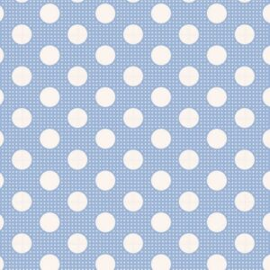 Telas Patchwork Tilda Magomar Patch colección Medium Dots Blue - Ref. MP130002