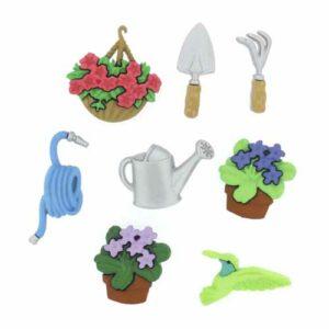 Botones Decorativos Magomar Patch Jardinería