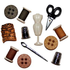 Botones Decorativos Magomar Patch Cuarto de Costura