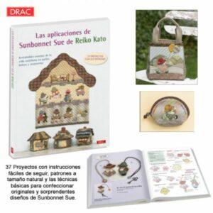 Magomar Patch Libro Las Aplicaciones de Sunbonnet Sue de Reiko Kato - DRAC