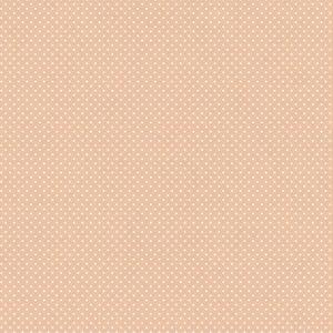 Telas Magomar Patch Básica colección Dotty - motivo topitos sobre rosa palo Ref. MP62795