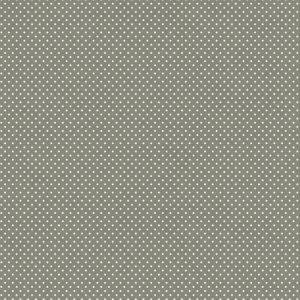 Telas Magomar Patch Básica - motivo topitos blancos sobre gris plomo - Ref. MP15548,061