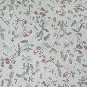 Telas Magomar Patch Estampada - Colección My Flutter por Stoffabrics - motivo flores natural - 100% Algodón - Ref. MP4501-423 (2)
