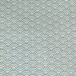 Telas Magomar Patch Estampada - Colección My Flutter - motivo conchas - Stoffabrics 100% Algodón - Ref. MP4501-425