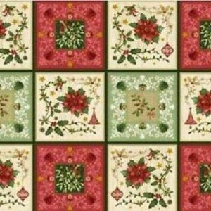 Telas Magomar Patch Panel The Giving Quilt de Jennifer Chiaverini - RED Rooster Fabrics - medodas 61x110cm 28 cuadros de 14x14cm Ref. MP23287 9,50EU