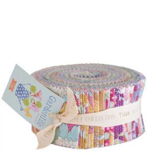 Telas Magomar Patch Tilda - colección Gardenlife - Jelly Roll x 40 ( 6 x 110cm ) - Tilda Fabrics 100% Algodón Ref. MP300103
