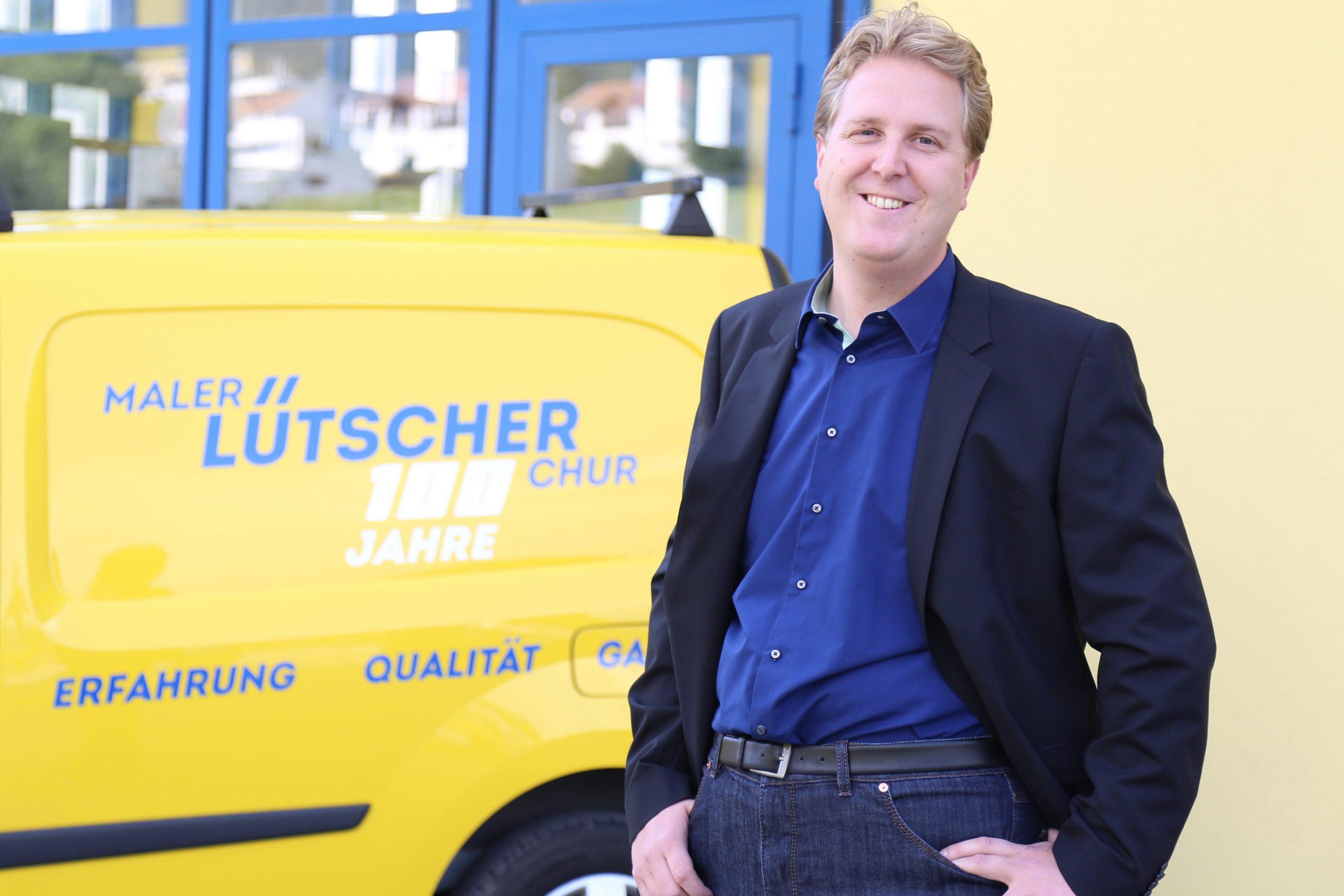 Geschäftsführer Marco Lütscher