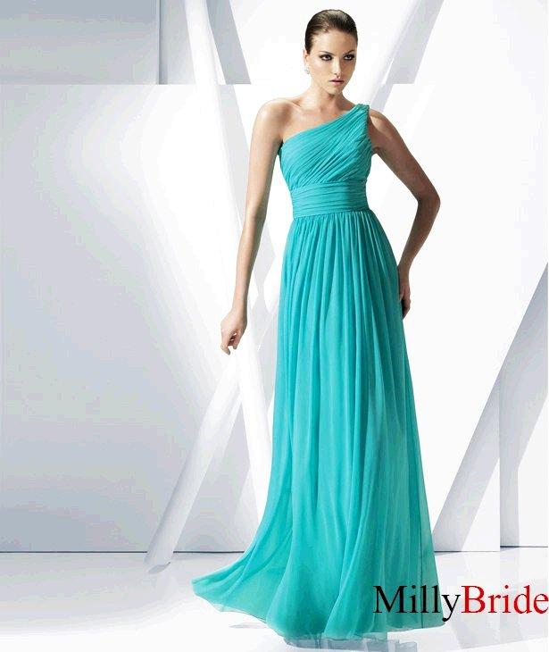 pictures of column one shoulder strap chiffon pronovias prom dresses pspd058-f07408
